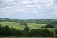 Southern Missouri Landscape. A southern Missouri landscape in the summer stock photography