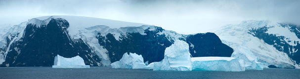 Southern Orkney Islands in antarctic area Stock Photography