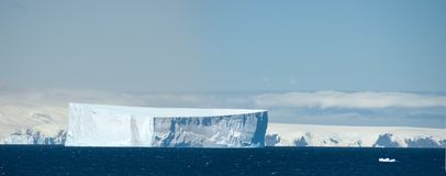 Southern Orkney Islands in antarctic area Royalty Free Stock Images