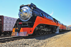 Southern Pacific Daylight Steam Engine Royalty Free Stock Images