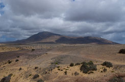 The south of Lanzarote Stock Photo
