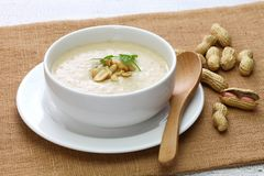 Southern peanut soup royalty free stock images