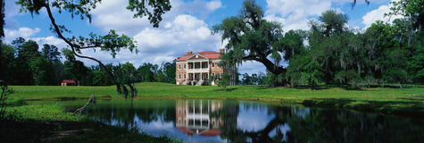 Southern Plantation Stock Photography
