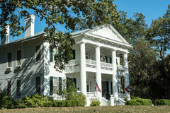 Southern Plantation Mansion Royalty Free Stock Photos