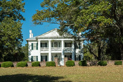 Southern Plantation Mansion Stock Images