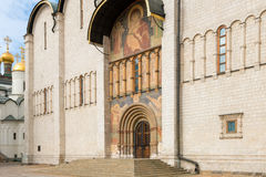 The southern portal of the assumption Cathedral Stock Images