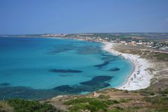 Southern Sardinia in Italy Stock Photos