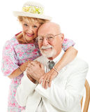 Southern Seniors - Portrait Stock Images