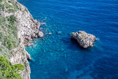 Southern Shore Capri Stock Photography