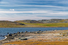 Southern shore of Novaya Zemlya Stock Photo