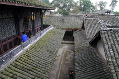 Southern Sichuan ancient dwellings. Xi Jiashangu residence is a national key cultural relics protection units. Located in Sichuan Province, was built in the Ming Royalty Free Stock Images
