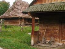 Transcarpathian Museum of Folk Architecture and Life stock photo