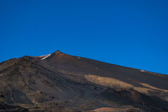 The southern slopes of Etna mount in Sicily Royalty Free Stock Photography