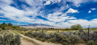 Southern Snake Range Royalty Free Stock Image