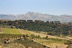 Southern Spain landscape Stock Photo