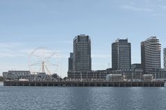 Southern Star and Waterfront Stock Photography