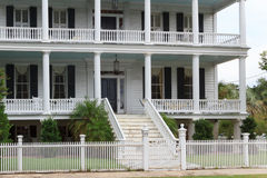 Southern states style mansion Royalty Free Stock Image