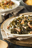 Southern Style Collard Greens Royalty Free Stock Photos