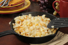 Southern style hash browns Royalty Free Stock Photo