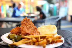 Southern style meal Royalty Free Stock Photos