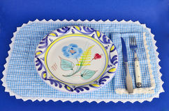 Southern Style Place Setting Royalty Free Stock Photo