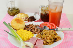 Southern-style Supper Royalty Free Stock Photo