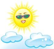 Southern Sun – Vector Illustration Stock Image