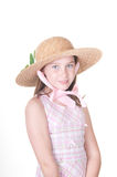 Southern in Sunday bonnet Stock Photos
