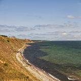 Southern sweden beach landscape Royalty Free Stock Photo