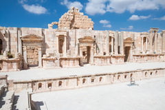 Southern theater, Jerash Royalty Free Stock Photography