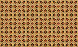 Southern tile pattern. Orange southern tile pattern, made from portuges tile peaces Royalty Free Stock Photo