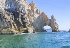 Mexico. The Arch Of Cabo San Lucas. Royalty Free Stock Images