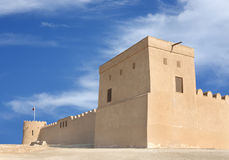 Southern tower of Riffa Fort Bahrain Stock Photography