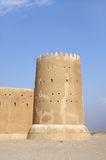 Southern tower of Zubarah fort, Qatar Royalty Free Stock Photos