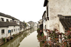 Southern town in  Suzhou China Royalty Free Stock Images