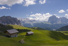 Southern Tyrol. Landscape in southern Tyrol Royalty Free Stock Photos
