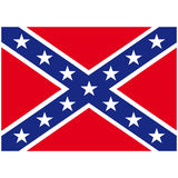 Southern united states flag Stock Photos