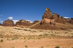 Southern Utah Mesa 3. Desert mesas in Southern Utah stock image