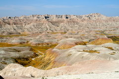 Badlands Landscape Royalty Free Stock Images