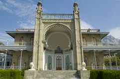 Southern veranda of Vorontsov Palace Stock Photos