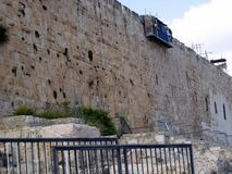 The southern wall of the Temple Mount Royalty Free Stock Image