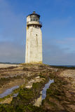 Southerness Lighthouse, Dumfries and Galloway, Scotland. Royalty Free Stock Photography