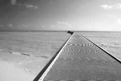 The Southernmost Pier. The view of southernmost pier in The United States (Key West, Florida Stock Photography
