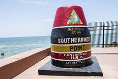 The Southernmost Point Buoy Stock Images