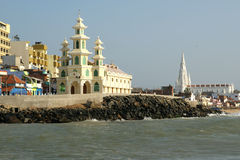 Southernmost point of India Royalty Free Stock Images