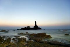 Southernmost point of India. Comorin or Kanyakumari, India Stock Photography