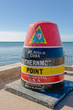 Southernmost point, Key West Stock Photos