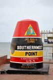 Southernmost Point in Key West, Florida Stock Photos