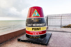 Free Southernmost Point Marker, Key West, USA Stock Images - 91950414