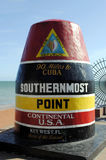 Southernmost Point in the USA. Florida Stock Photos